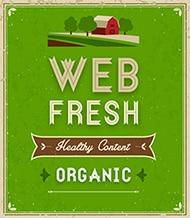 Fresh web copy