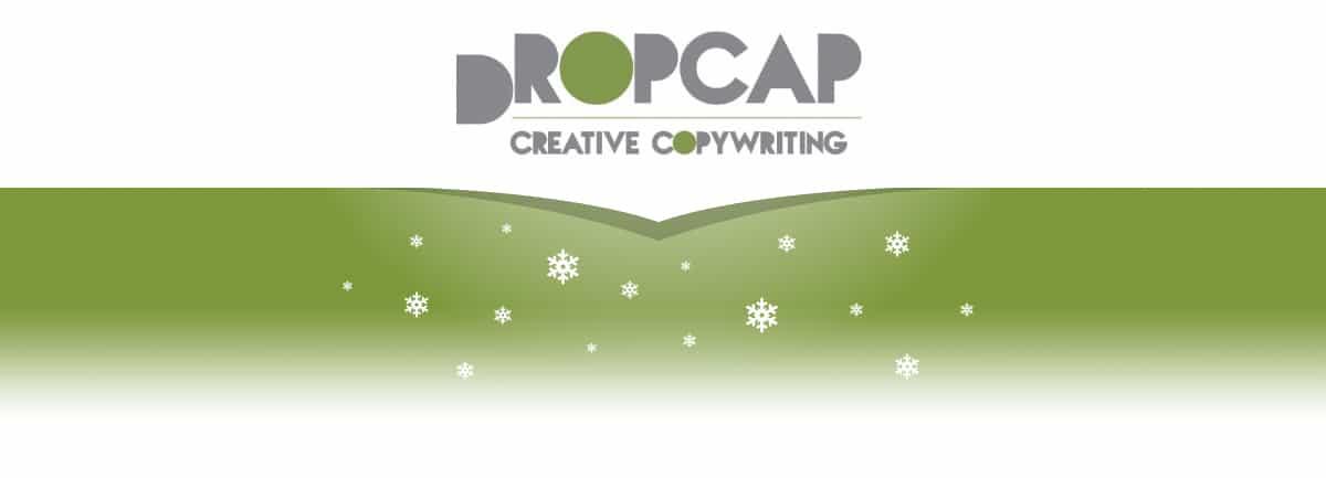 DropCapCopy Christmas Blog Header