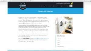 DropCapCopy Copywriting SWLS Sports Kit page