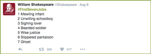 FirstSevenJobs-Shakespeare