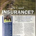 DropCapCopy Copywriting Editorial Sample for Versatile Insurance page 1