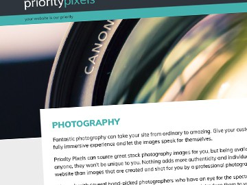 Website & SEO Content : Priority Pixels