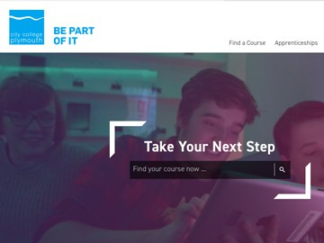 Website & SEO content : City College Plymouth