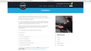 DropCapCopy Copywriting SWLS Installation page