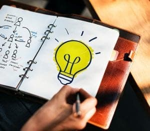 Have a plan lightbulb