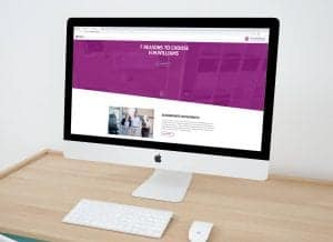 HMWilliams Accountants on iMac