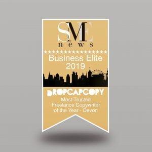 DropCapCopy SME News Winners Logo