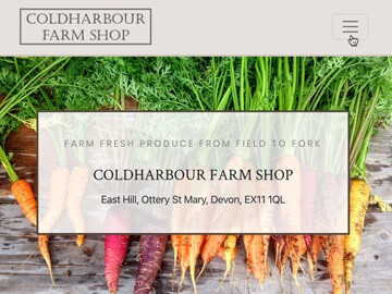 Coldharbour Farm Shop Intro Image