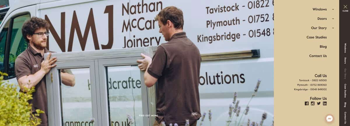 Image from Nathan McCarter Joinery website