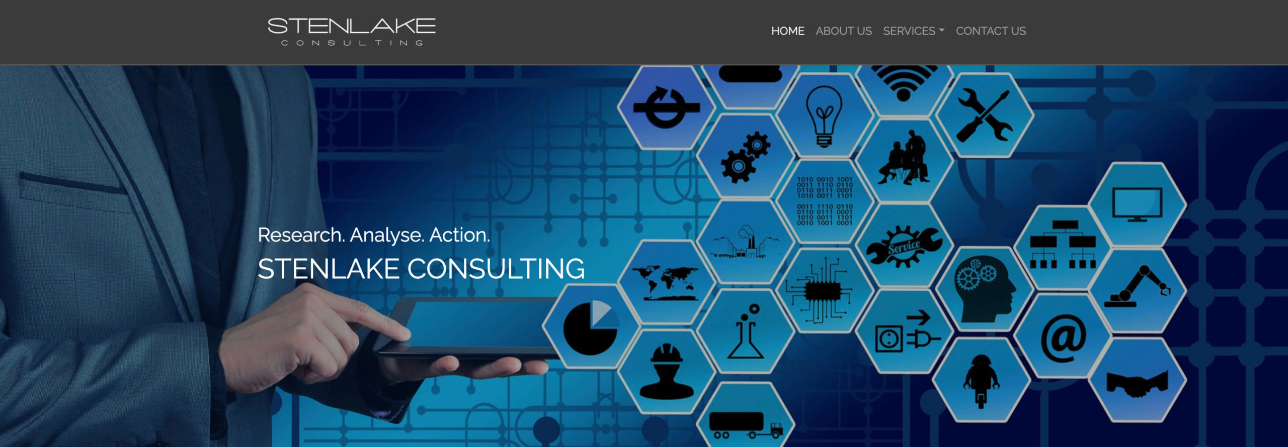 Image from Stenlake COnsulting home page